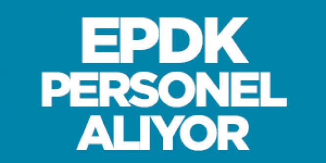 EPDK Yeni Personel - Memur Alımı