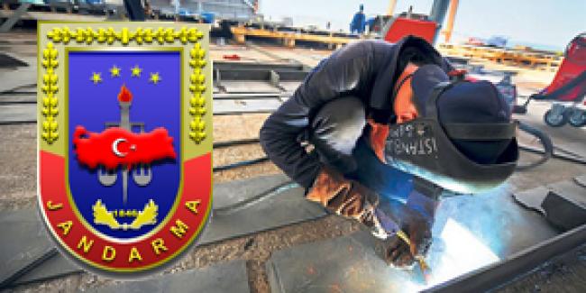 Jandarma Bakım Komutanlığı İŞKUR İşçi Personel Alımı