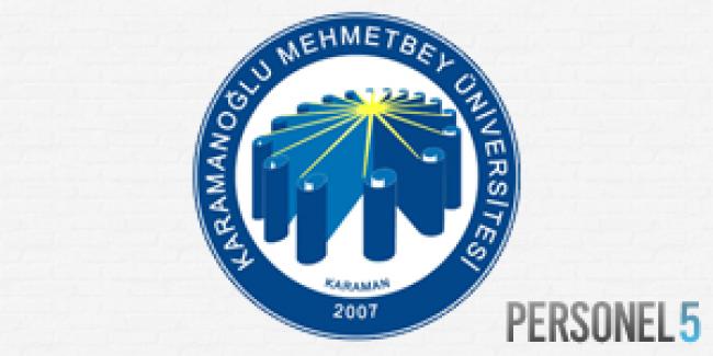 Karamanoğlu Mehmetbey Üniversitesi Personel Alımı