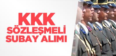 KKK Muvazzaf/Sözleşmeli Subay Alımı, Başvuru ve Şartlar