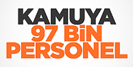 97 bin kamu personeli alımı yapılacak