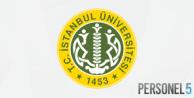 İstanbul Üniversitesi personel alımı