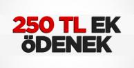 Koruculara 250 TL Ek Ödenek