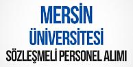 Mersin Üniversitesi Sözleşmeli Hemşire, Sağlık Teknikeri Personel Alımı