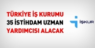 Türkiye İs Kurumu 35 İstihdam Uzman Yardımcısı Personel Alımı
