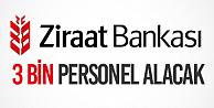 Ziraat Katılım Bankası 3 Bin Yeni Personel Alımı