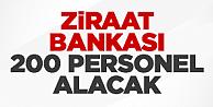 Ziraat Katılım Servis Görevlisi Alımı 2016