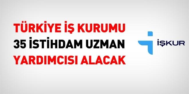 Türkiye İs Kurumu 35 İstihdam Uzman Yardımcısı Personel Alımı 2019