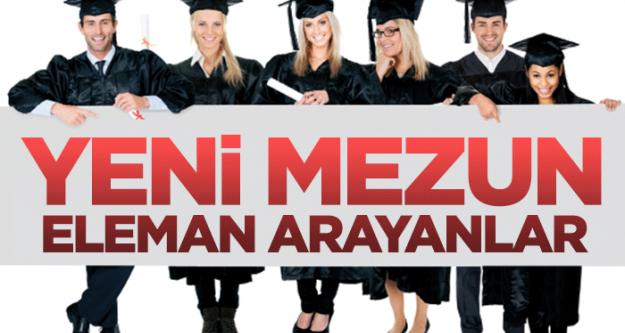 Yeni mezun eleman ve personel alımı yapan firmalar